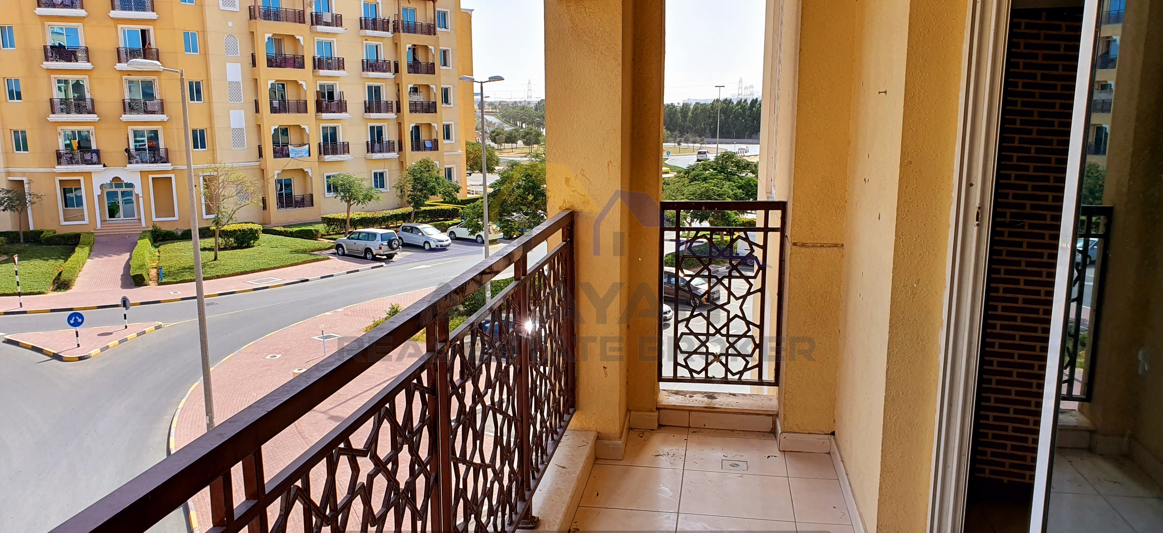 EMIRATES CLUSTER: 1 BHK WITH BALCONY FOR SALE 335,000/-